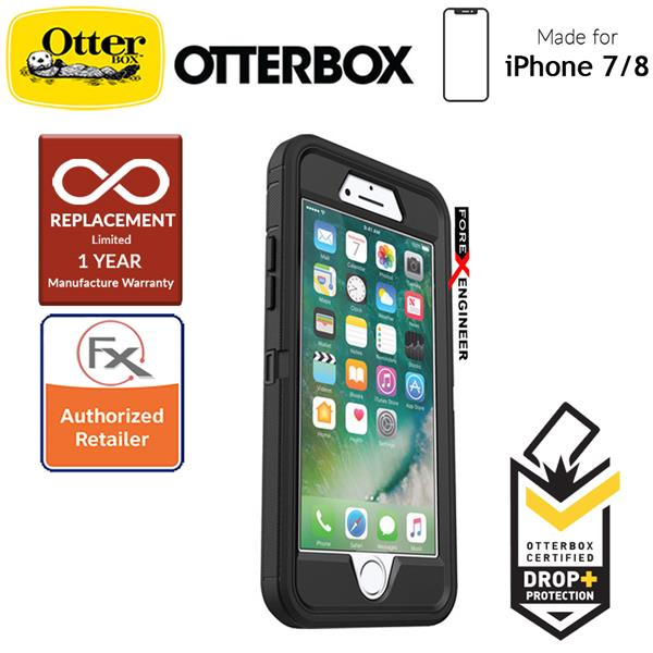 timeless design d1368 77d97 Otterbox Defender Series for iPhone 8 / 7 - Black