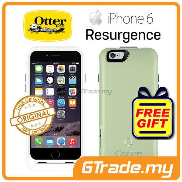 new style 72035 9831c OTTERBOX Resurgence Power Battery Case 2600 mah Apple iPhone 6S 6 ICE