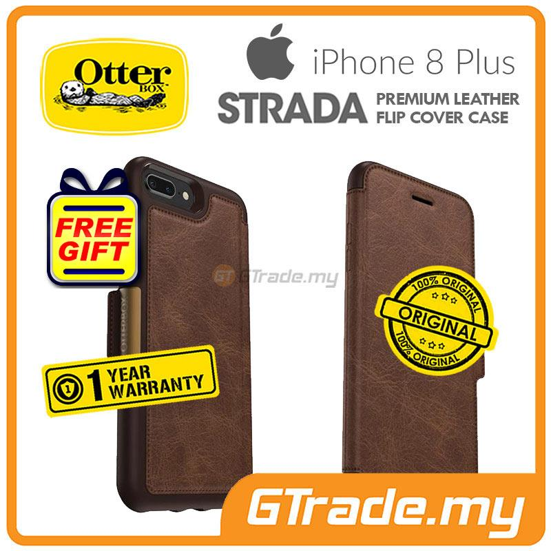 check out d31f7 18af6 OTTERBOX Strada Folio Premium Leather Case Apple Iphone 8 7 Plus Espr