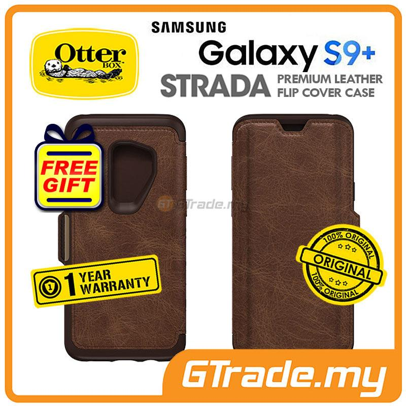 buy online f8659 ad8de OTTERBOX Strada Folio Premium Leather Case Samsung Galaxy S9 Plus Espr