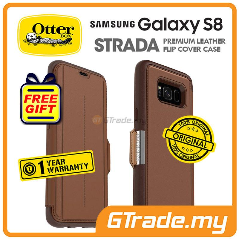 buy online 94cae b8443 OTTERBOX Strada Premium Leather Case | Samsung Galaxy S8 Burnt
