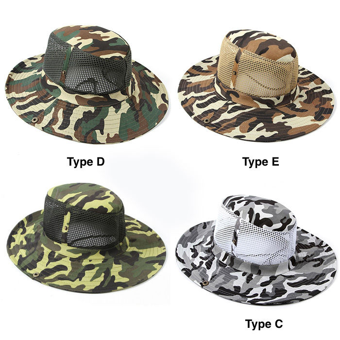 OUTDOOR CAMPING MESH BOONIE HAT CAMO (end 7 9 2021 12 00 AM) 4d68677cbde