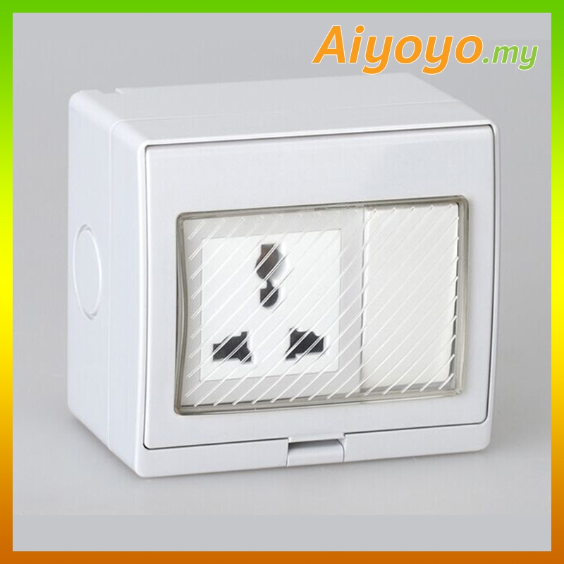 Outdoor Electrical Switch Socket Pow (end 7/24/2020 8:15 PM)