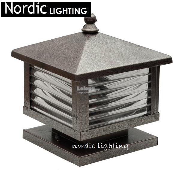 outdoor pillar lighting outdoor lighting