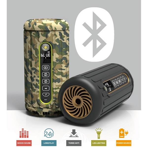 Outdoor Power Bank And Bluetooth Speaker (PB-16A) ★