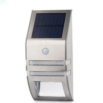 Outdoor Solar Powered LED Security Light - 50 lumens, Motion Detection