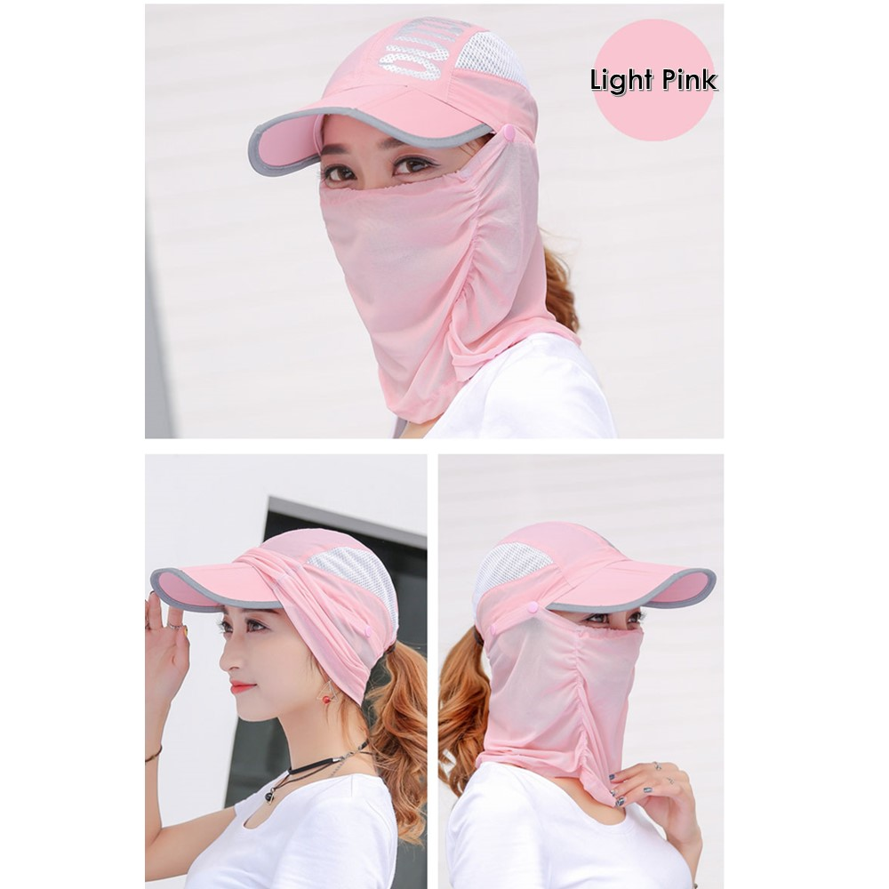 Outdoor Sport Face Shield Neck Cover Protect Hats Anti Mosquito Hat Un 8b8339437517
