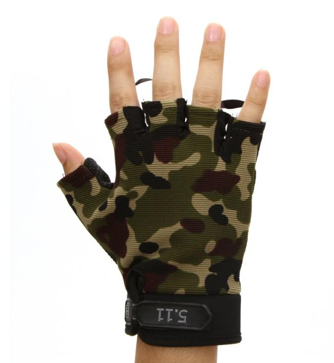 Outdoor Sports 5.11 Half Finger Gloves Army Style Gym Workout