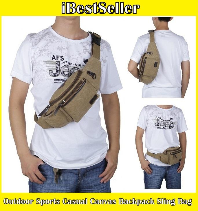 b1494d0a9e9 Outdoor Sports Casual Canvas Backpa (end 7/29/2020 10:15 PM)