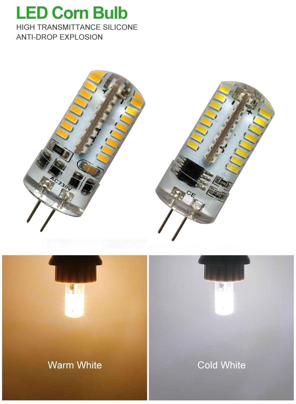 Outdoor String Lights - 5 X Led Blub - 5pcs 5w G4 Led Lights Dimmable ..