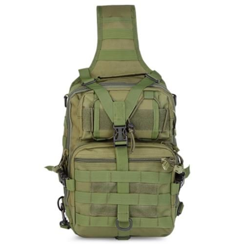 ec289462dfdc OUTDOOR TACTICAL SHOULDER BACKPACK FOR CAMPING TREKKING (ARMY GREEN)
