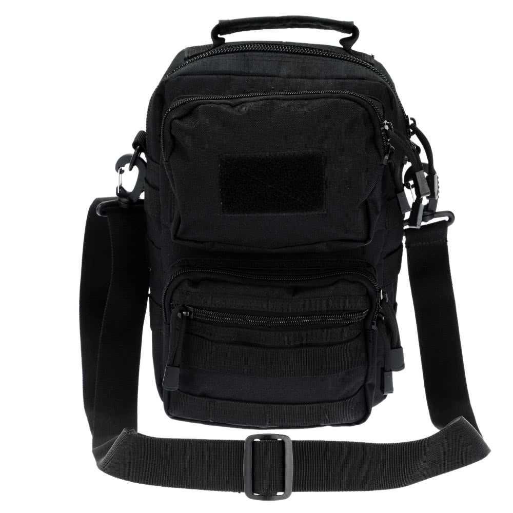 ae625c6d15b7 Outdoor Tactical Shoulder Bag Pack Adjustable Crossbody Bag Sling Bag for  Camp