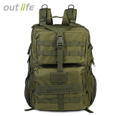 Outlife 068 45L Large Capacity Molle Tactical Backpack