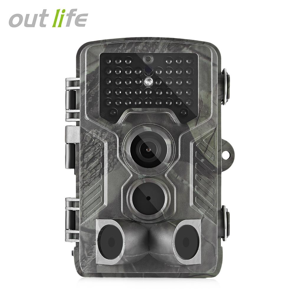 Outlife HC - 800LTE 4G 1080P 16MP Infrared Trail Camera Wildlife Scout..