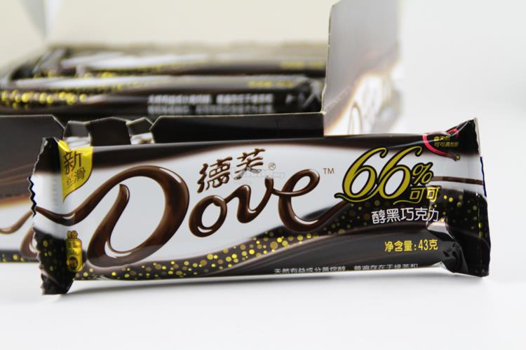 OVE DARK CHOCOLATE 43g 66% COCOA(1PC)