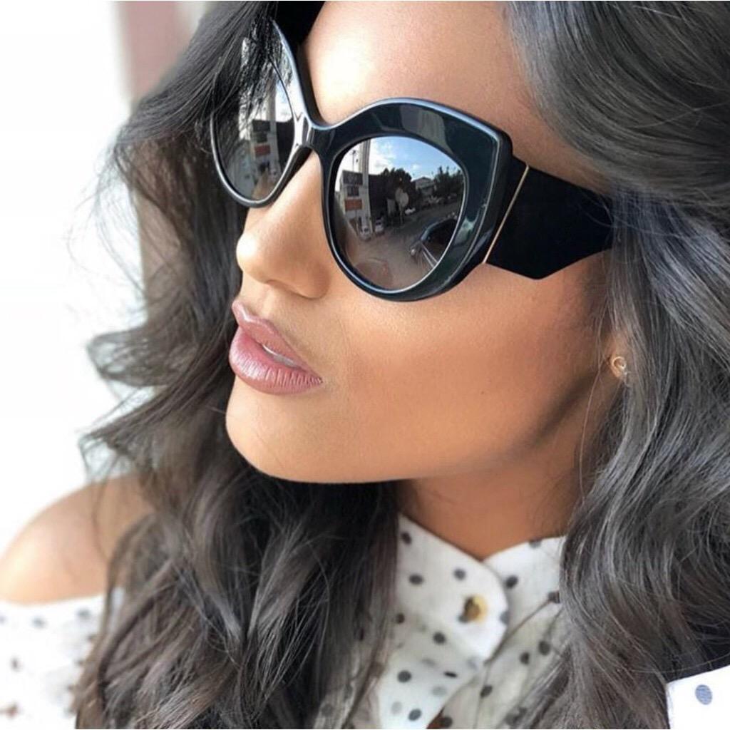 3dcf3bb66 Oversized Round Cat Eye Sunglasses (end 2 15 2021 12 00 AM)