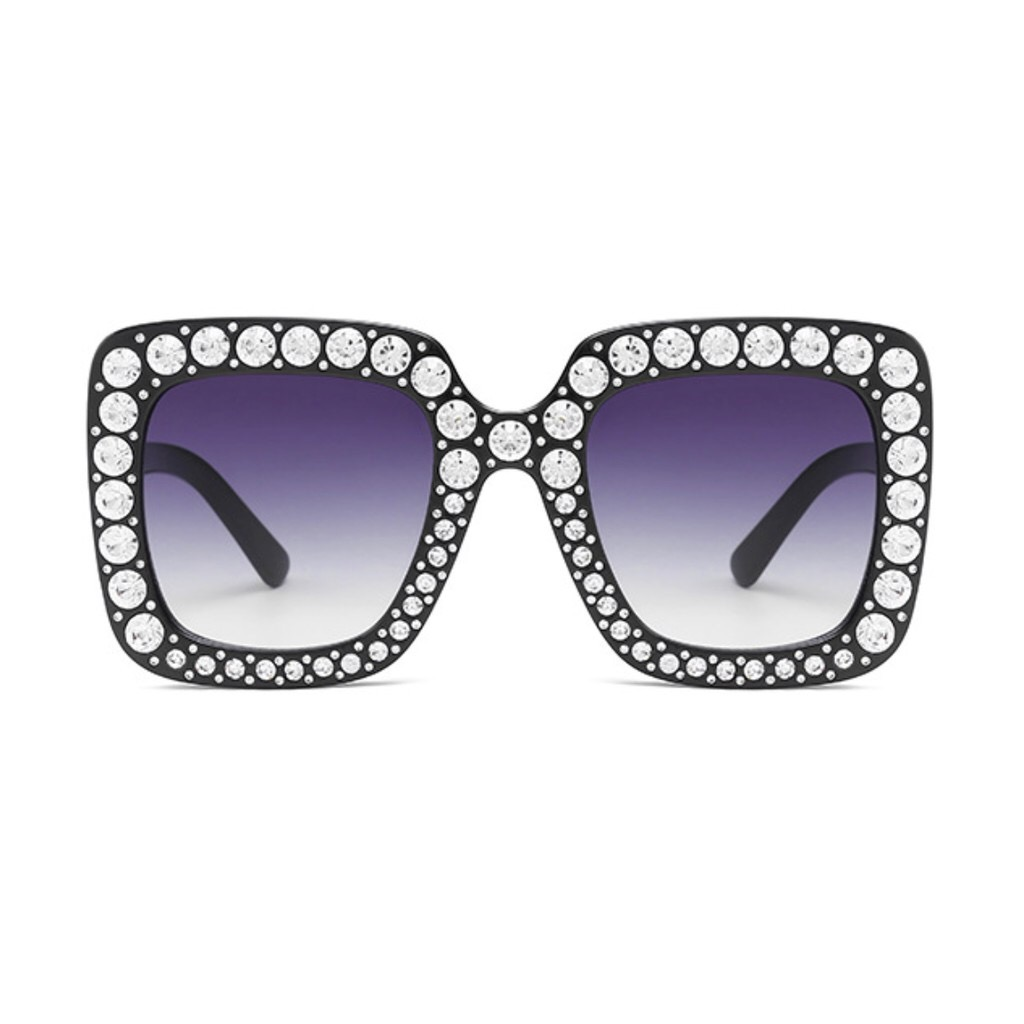 28cf3196df9 Oversized Square Frame Bling Rhinesto (end 9 5 2020 2 08 PM)