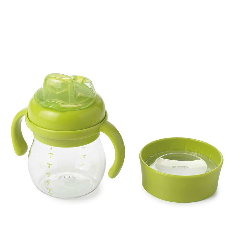 Oxo Tot Grow Soft Spout Training Cup Set - Green