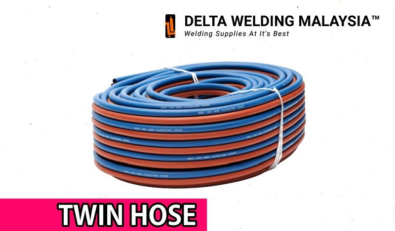 Oxy Acetylene Gas Hose 10 meter Supply Welding Malaysia