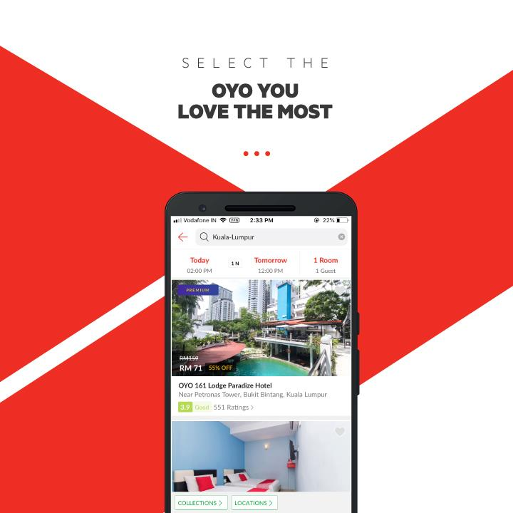 OYO Hotels & Home[RM250 Discount Code]