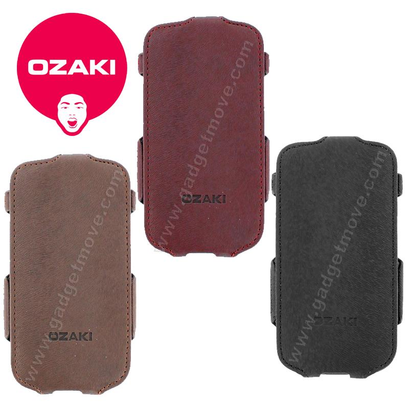 Ozaki  Samsung Galaxy S3 i9300 vertical Flip Down leather case Flip Co