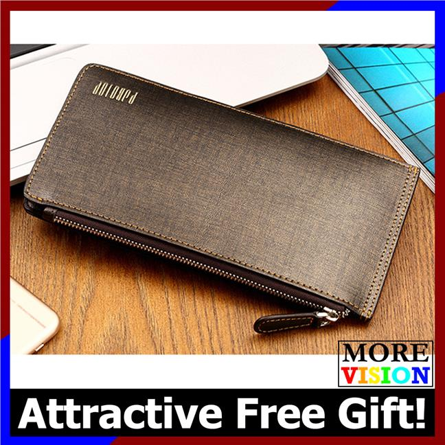 Pabojoe Men Premium Genuine Leather Long Wallet with 22 card slots 597