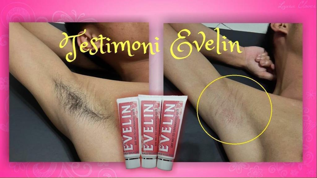 NEW  PACKAGING EVELIN Hair Removal Cream ~ Termurah~