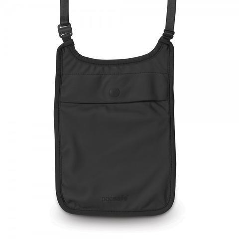 PACSAFE COVERSAFE S75 SECRET NECK POUCH -BLACK