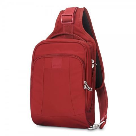 PACSAFE METROSAFE LS150 ANTI-THEFT SLING BACKPACK - VINTAGE RED