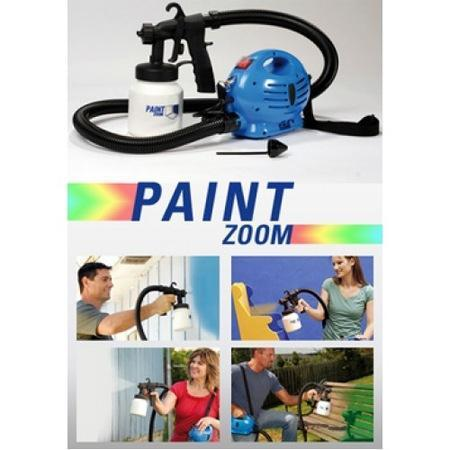 Paint Zoom Professional Electric Paint Sprayer Paint Gun with 3 Way Sp
