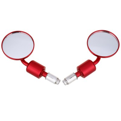 Paired Universal Motorcycle Motorbike Round Rear Mirror