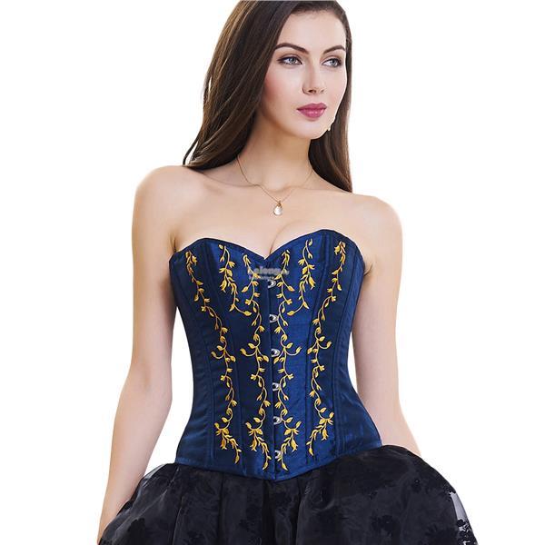 0f73514911e Palace plastic willow branches embroidery steel bone abdomen corset. ‹ ›