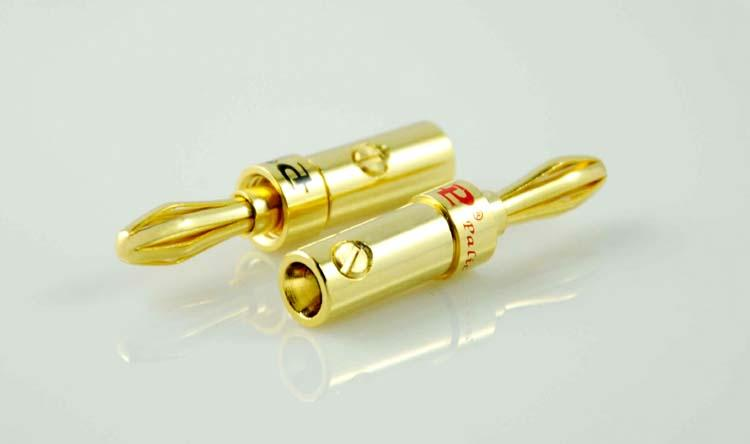 PALIC GOLD PLATED SPEAKER CABLE BANANA PLUG