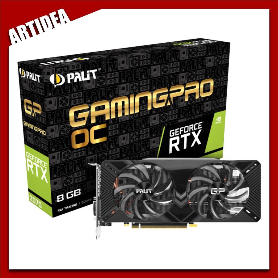 ^ Palit GeForce RTX 2070 Gaming Pro OC 8GB | PALX-RTX2070 Gamin Pro OC