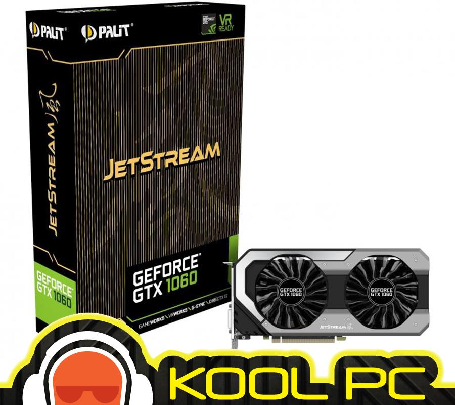 * PALIT GTX 1060 JetStream 6GB DDR5 | GTX1060 6 GB ( NEW SEAL UNIT )