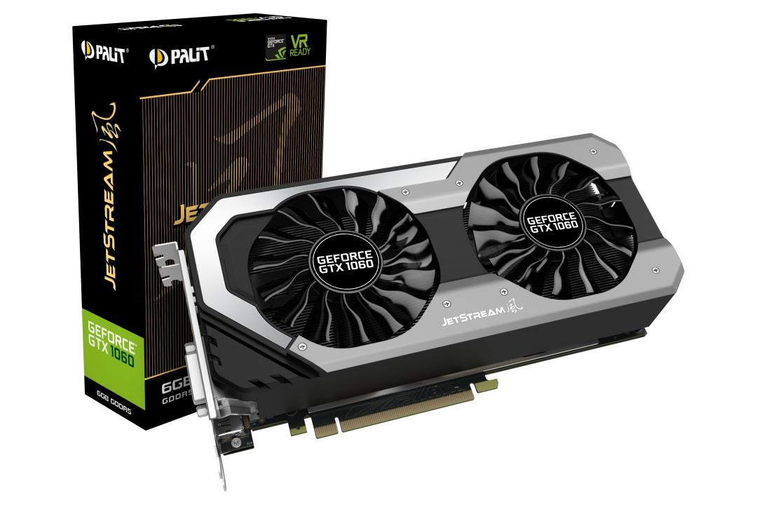Palit Nvidia GTX 1060 6GB GDDR5 - PALX-GTX1060D5-6GJS