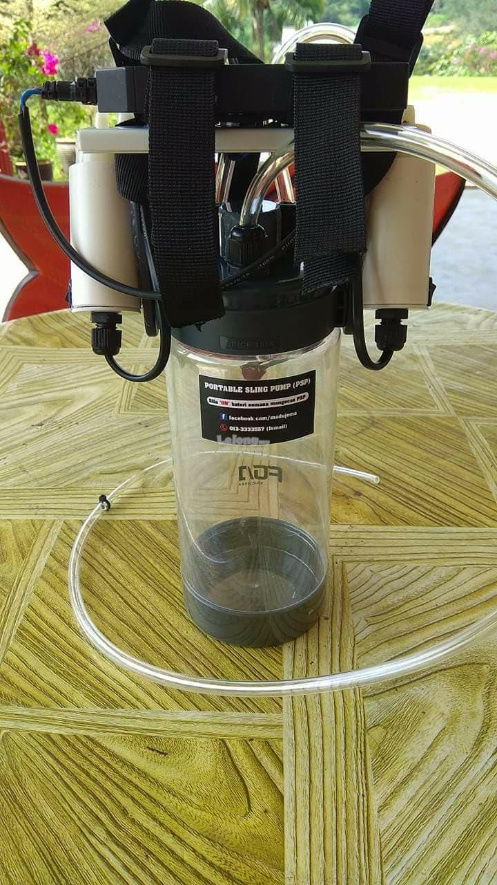 Pam Madu Kelulut 1500ml 5v USB Twin motor (tanpa powerbank)