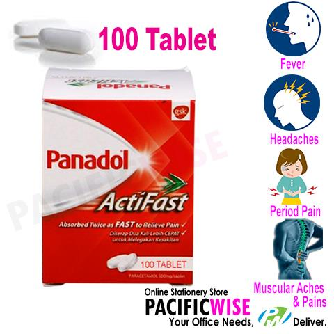 PANADOL ACTIVE FAST 100S End 8 30 2018 915 AM