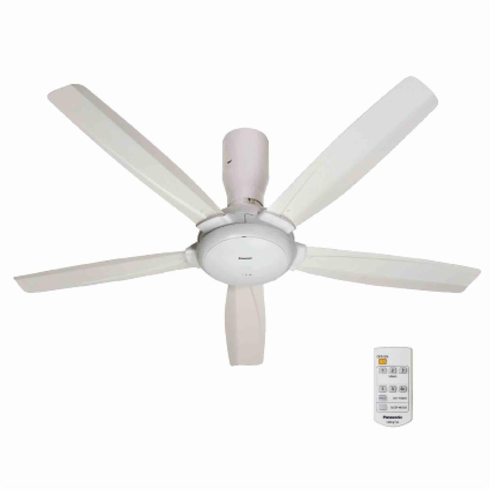 Panasonic 5 blade ceiling fan with r end 1162019 215 pm panasonic 5 blade ceiling fan with remote white m14d5 mozeypictures Images