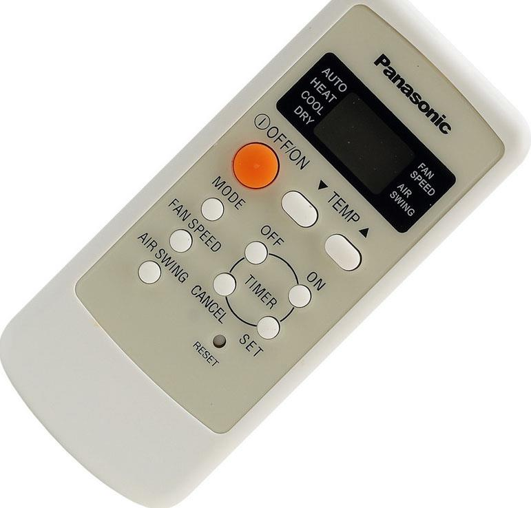 Panasonic Air Conditioner Remote A75C2560 instead of A75C2502 A75C2504