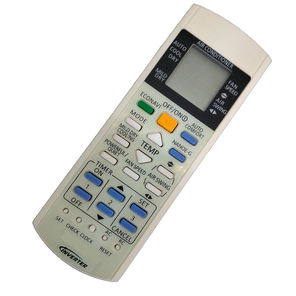Panasonic Air Conditioner Remote Control Econavi Inverter NANOE-G Air