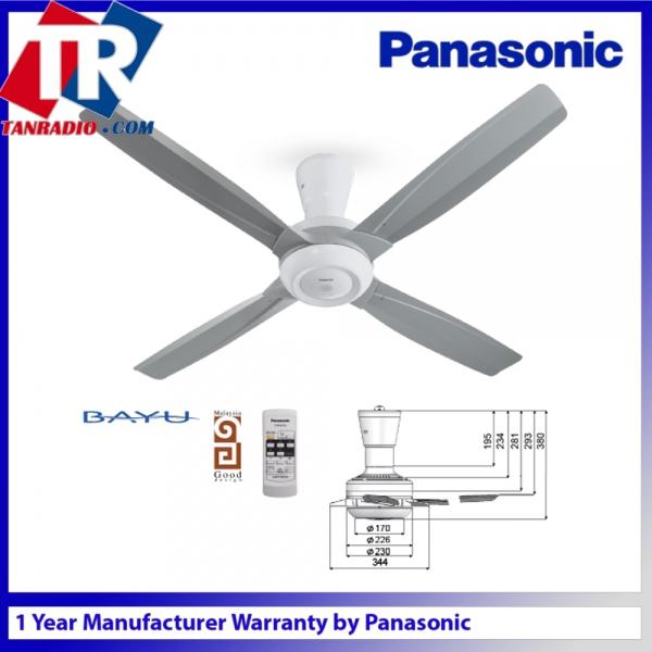 Panasonic Bayu 4 Blades Ceiling Fan F M14c8 56 203
