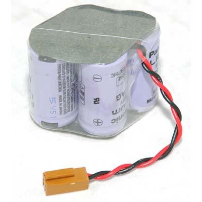 Panasonic BR2/3AGCT4A, A98L-0031-0025 PLC Lithium Battery 6V.