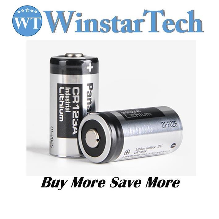 Attraktiva Panasonic CR123 / CR123A 3V Lithium (end 11/18/2020 7:15 PM) CK-19
