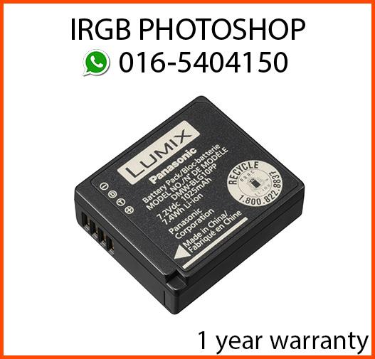 Panasonic DMW-BLG10P Original Battery for LX100 GX7 GF6 GF5 GF3