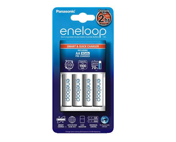 Panasonic eneloop Smart & Quick Charger K-KJ16MCC40M (Quick Charger)