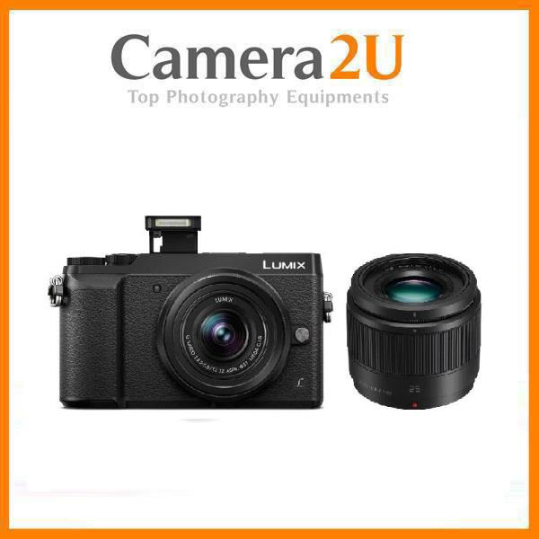 Panasonic GX85 12-32mm + Lens 25mm F1.7 + 16GB + Bag