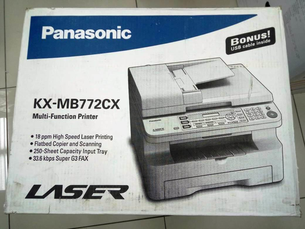 Panasonic KX-MB1900ME Multi-Function Station Treiber Windows XP