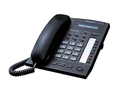 Panasonic KX-T7665X-B (Black) 8COL LCD Display Digital Speakerphone
