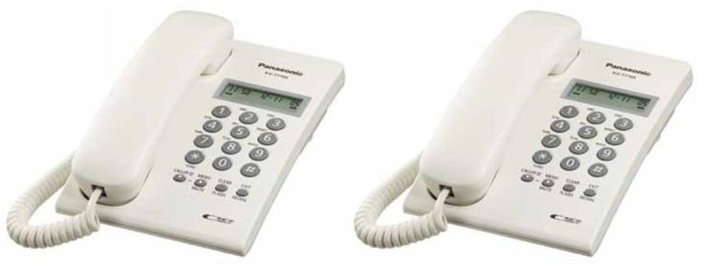Panasonic KX-T7703 Caller ID Single Line Phone Telephones